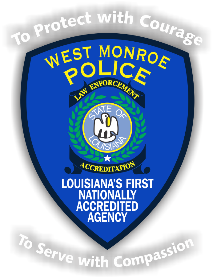 City of West Monroe Police Department Badge
